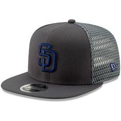 sale retailer dc14d b761a Men s San Diego Padres New Era Graphite Mesh Fresh 9FIFTY Adjustable  Snapback Hat, Your Price   27.99