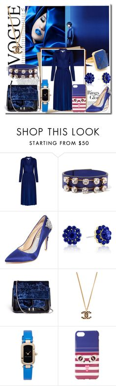 """Blue Velvet!!"" by stylediva20 ❤ liked on Polyvore featuring Whiteley, Diane Von Furstenberg, Marni, Tiffany & Co., Badgley Mischka, 3.1 Phillip Lim, Marc Jacobs, Iphoria and Ringly"