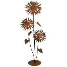 Large Sun Flower Garden Sculpture