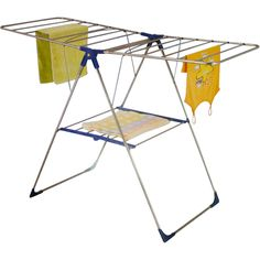 FOLDING 18M CLOTH CLOTHES AIRER DRYER HORSE RACK INDOOR OUTDOOR LAUNDRY