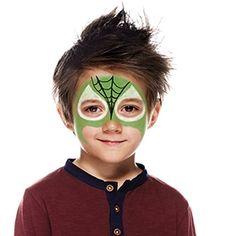 How to face paint Arachnido superhero | Snazaroo.com