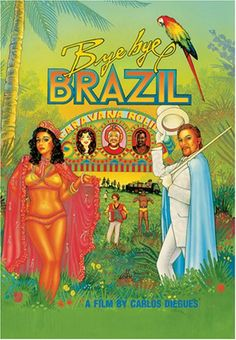 BYE BYE BRASIL (poster americano)
