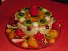 images of cakes made from fresh fruit - Google Search