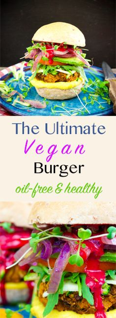 The Ultimate Vegan Burger