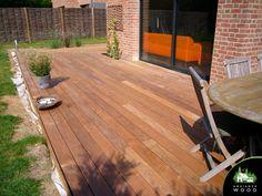 Terrasse Ipe de 70m² – Ambiance Wood Deck, Wood, Outdoor Decor, Home Decor, Wood Construction, Balance Beam, Decoration Home, Woodwind Instrument, Room Decor