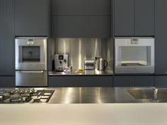 Roundhouse bespoke kitchen furniture matt lacquer Urbo kitchen
