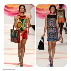 Desigual New 2014 Spring Collection / Color and more colors