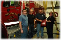 On the #MinerInstitute #blog - the Cabot farmers went into their communities during #FirePreventionWeek to thank the #VFDs with chese!
