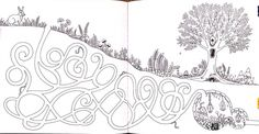 Imglabirintru Images Comments Pic 1527 More Information Enchanted Forest An Inky Quest Coloring Book Johanna Basford