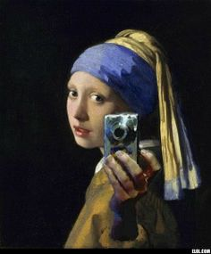 girl with the pearl earring??  too funny