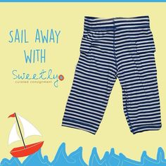 Sail away with Sweetly in these adorable Kickee pants! . . #kickeepants #kickee #kickeecutie #kickeemom #shopsweetly #sail #sailing #sailboat #designerkids #instakids #kidsconsignment #kidsfashion #kidsofinstagram #mommyblogger by shopsweetly
