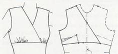 Patrones de blusa con cortes asimétricos | El costurero de Stella