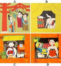 Small Folk Paintings US$29.95