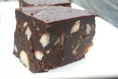 Chocolade pindakaas fudge die smaakt als een Snickers Dr. Oz en Dr. William Davis (auteur van Broodbuik) werken samen en komen met een aantal recepten. Deze chocolade fudge heb ik gemaakt met hazelnoten en pindakaas. En als je een hap neemt smaakt het net als een snickers. Dit is echt een enorme verwennerij. Je bepaalt zelf of je ze met nog een extra chocolade- en pindakaaslaagje bedekt of niet. Het geeft wel net iets extra's. Maar alle soorten smaken geweldig!
