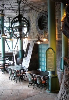 Nautilus Galley -Tokyo Disney Sea-terrible coffee but the location was neat