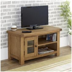 Malvern Small Tv Unit Oak Stand Stands