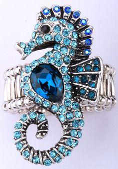 Sea Horse Stretch ring