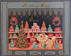 Winter Art, Advent Calendar, Marie, Holiday Decor, Christmas, Painting, Home Decor, Gatos, Noel
