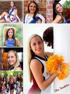 Cheerleader photos cheer pictures football poses Cheer Pics, Cheer Pictures, Cheerleading Senior Pictures, Football Poses, Sports Photos, Photo Ideas, Craft Supplies, Photography, Soccer Poses