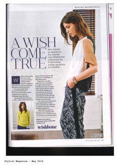 Stylist Magazine Fashion Brand, Womens Fashion, Brompton, Stylists, Product Launch, Fabric, How To Wear, Magazine, Image