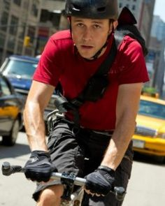 Joseph Gordon-Levitt plays bike messenger Wilee in Premium Rush, and even does some of his own stunts