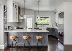 Fabulous Contemporary Kitchen Cabinets Remodel Ideas