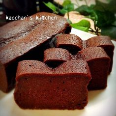 超簡単♡しっとり濃厚♡生チョコケーキ