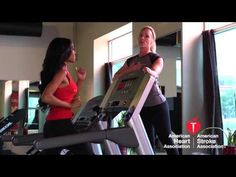 Treadmill Workout with Michelle Williams, American Heart Association ambassador