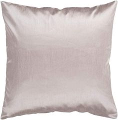 Surya HH-044 Square Indoor Decorative Pillow with Down or Polyester Filling from 18 x 18 Polyester Filler Home Decor Pillows Pillows