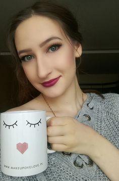 Kubek Makeupove Love www.makeupovelove.pl