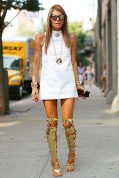 Anna Dello Russo - New York Fashion Week