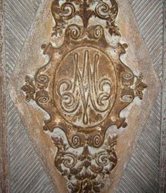 Marie Antoinette's monogram - need this some where!