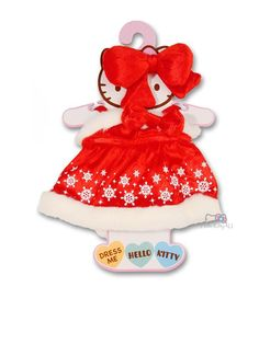 0b5b488ee Hello Kitty Party Dress | Hello Kitty Dress Me Plush Outfit | Hello Kitty  Party Dress