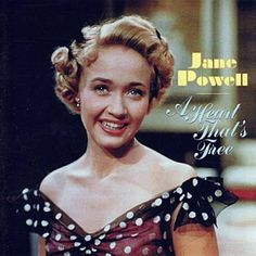 Jane Powell, Cover Pics, Cover Picture, Beautiful Voice, Cool Things To Buy, Stuff To Buy, Old Hollywood, Classic Hollywood, Vintage Photos