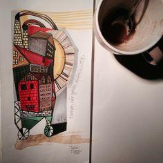 Illustration by Tattoo Artist Peter Aurisch..Love his work!