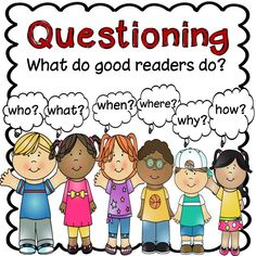 Teaching questioning strategies? This packet contains questioning strategy posters and graphic organizers to help students learn reading strategies. $ Reading Comprehension Posters, Reading Fluency, Reading Strategies, Reading Activities, Reading Skills, Teaching Reading, Guided Reading, Classroom Activities, Reading Classes