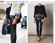 Marcus Design: {5 fashion trends for fall} Leather Pants
