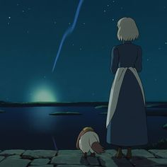 Howls Moving Castle, Disney Characters, Fictional Characters, Anime, Disney Princess, Film, Art, Studio Ghibli, Castles