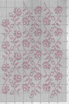 Kira scheme crochet: Curtain Filet Crochet, Crochet Borders, Crochet Motif, Crochet Patterns, Crochet Curtain Pattern, Crochet Curtains, Curtain Patterns, Crochet Dollies, Crochet Flowers