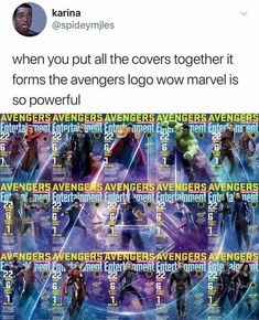 Of Todays Freshest Pics And Memes The Avengers theme started playing in my mind. The chills. The feels.The Avengers theme started playing in my mind. The chills. The feels. Marvel Jokes, Marvel Funny, Marvel Dc Comics, Marvel Heroes, Marvel Avengers, Marvel Logo, Who Are The Avengers, Marvel Facts, Avengers Memes