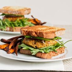 A vegan and gluten free veggie burger recipe made with zucchini, chickpeas, quinoa and sunflower seeds. This will be your new favorite burger. Even meat lovers will be smitten with these!