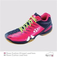 Yonex Power Cushion SHB-01 Lee Chong Wei Edition Badminton Shoes. 5aa0c493ad