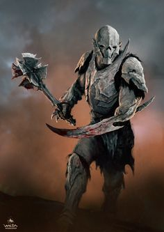 Orc -- The Art Of Weta Workshop: Mad Max, The Hobbit & More #orc