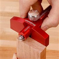"""Woodpeckers One-Time Tool 6"""" Marking Gauge with Aluminum Bar"""