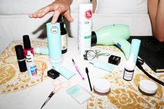 miranda kerr's organic-centric beauty routine.