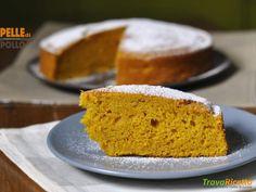 Torta di zucca e amaretti  #ricette #food #recipes