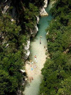 "Acherontas river, the mythical river of Epirus, in Greece. The legendary name of the spot is ""The Gate to the Underworld"" because the spring of the river is underground. Beautiful Islands, Beautiful World, Beautiful Places, Places To See, Places To Travel, Travel Around The World, Around The Worlds, Greek Beauty, Greece Travel"