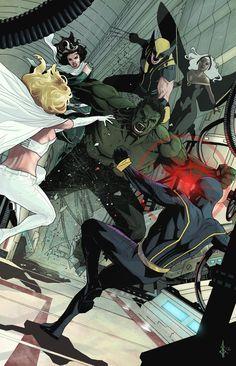 X-Men  Illustration by Bentti Bisson