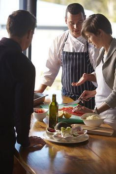 Cooking Class at Saffire Freycinet, Australia