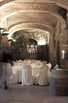 A Wine Cellar Wedding at Villa Sparina Resort, Italy